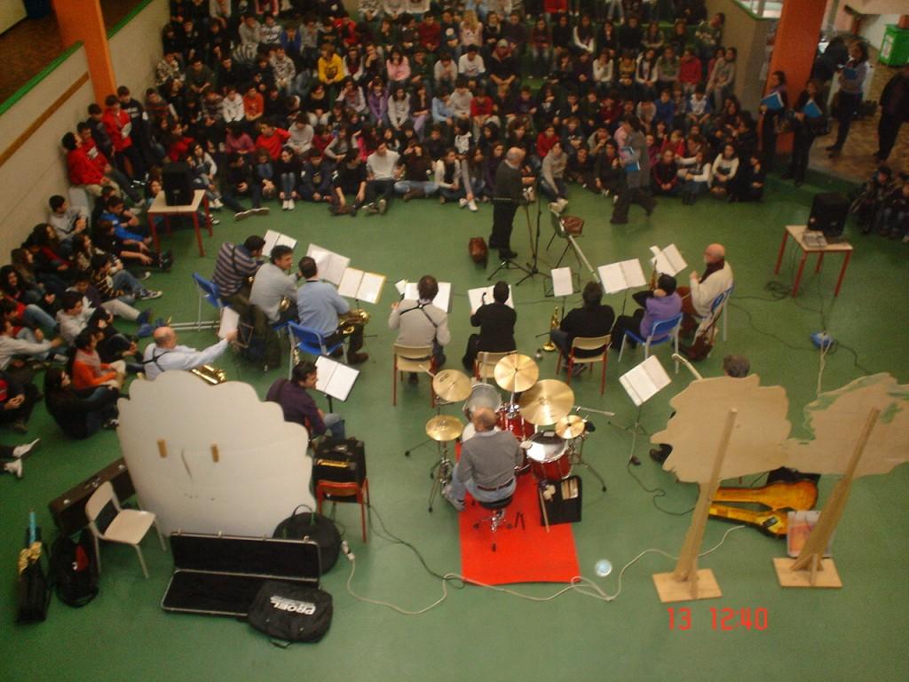 concerto in collaborazione con la Civica scuola di Musica - Saxophonia diretta dal maestro G.Rizzardi