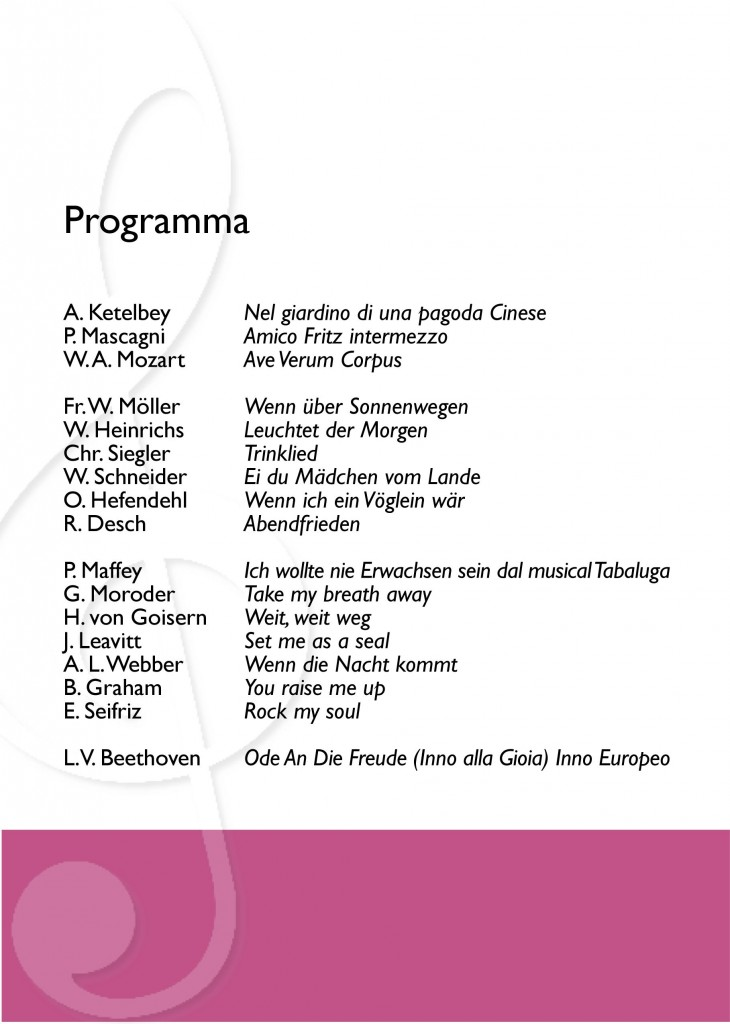 Programma di sala (2)